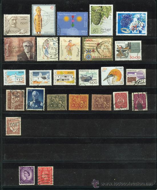 Sellos: + de 450 sellos del mundo, todos diferentes - Foto 13 - 31388152