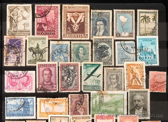 Sellos: + de 450 sellos del mundo, todos diferentes - Foto 16 - 31388152