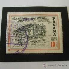 Timbres: SELLO: LXXV ANIVERSARIO CUERPO DE BOMBEROS, PANAMÁ, 10C - REFª (JC) MAIL STAMP. Lote 32964891