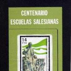 Sellos: SERVICIO FILATELICO - INFORMACION Nº 18/82 - CENTENARIO ESCUELAS SALESIANAS.. Lote 33340736