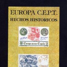 Sellos: SERVICIO FILATELICO - INFORMACION Nº 5/82 - EUROPA C.E.P.T. - HECHOS HISTORICOS.. Lote 33340907