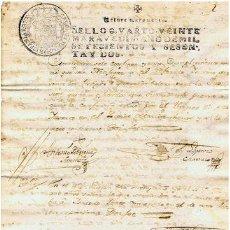 Sellos: TIMBROLOGIA.CARLOS III.S QUARTO.20 MARAVEDIS.AÑO 1762. Lote 35243581