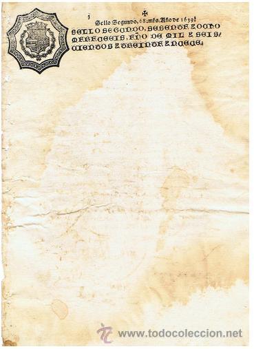 TIMBROLOGIA.FELIPE IV.S SEGUNDO.68 MARAVED.AÑO 1639 (Sellos - Material Filatélico - Otros)