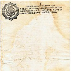 Sellos: TIMBROLOGIA.FELIPE IV.S SEGUNDO.68 MARAVED.AÑO 1639. Lote 35304869