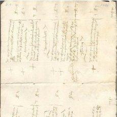 Sellos: TIMBROLOGIA.1480. FILIGRANA (MARCA DE AGUA - WATERMARKING): MANO CON TREBOL. Lote 35377307
