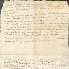 Sellos: TIMBROLOGIA.1660. FILIGRANA (MARCA DE AGUA - WATERMARKING): MANO Y CRUZ. Lote 35377790