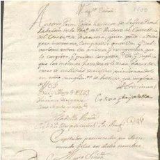Sellos: TIMBROLOGIA.1700. FILIGRANA (MARCA DE AGUA - WATERMARKING): TIMON. Lote 35378127