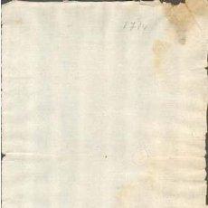 Sellos: TIMBROLOGIA.1714. FILIGRANA (MARCA DE AGUA - WATERMARKING): CRUZ. Lote 35378217