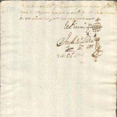 Sellos: TIMBROLOGIA.1778. FILIGRANA (MARCA DE AGUA - WATERMARKING): CETRO CON CRUZ. Lote 35401897