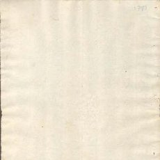 Sellos: TIMBROLOGIA.1781. FILIGRANA (MARCA DE AGUA - WATERMARKING): ESCUDO CON CORONA. Lote 35402025