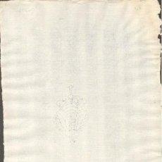 Sellos: TIMBROLOGIA.1789. FILIGRANA (MARCA DE AGUA - WATERMARKING): ESCUDO CORONADO. Lote 35402188