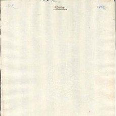Sellos: TIMBROLOGIA.1792. FILIGRANA (MARCA DE AGUA - WATERMARKING): MEDALLON FRAN. SORIA. Lote 35402452