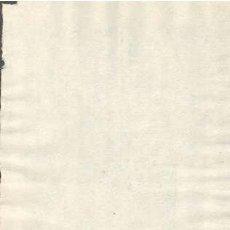 Sellos: TIMBROLOGIA.1801. FILIGRANA (MARCA DE AGUA - WATERMARKING): MEDALLON ANTORCHA. Lote 35444467