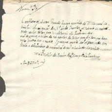 Sellos: TIMBROLOGIA.1817. FILIGRANA (MARCA DE AGUA - WATERMARKING): CORONA OLVA. Lote 35444931