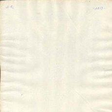 Sellos: TIMBROLOGIA.1817. FILIGRANA (MARCA DE AGUA - WATERMARKING): PALMERA MARI. Lote 35445038