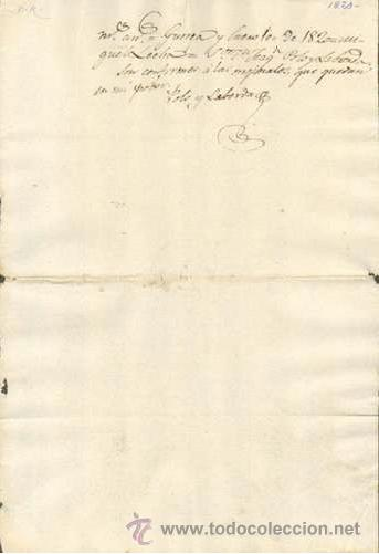 TIMBROLOGIA.1820. FILIGRANA (MARCA DE AGUA - WATERMARKING): MEDALLON CON CAMPANA (Sellos - Material Filatélico - Otros)