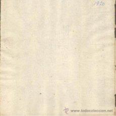 Sellos: TIMBROLOGIA.1820. FILIGRANA (MARCA DE AGUA - WATERMARKING): POZO. Lote 35563384