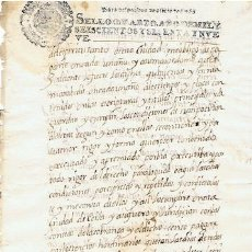 Sellos: TIMBROLOGIA.CARLOS II.S QUARTO.2 MARAVED.AÑO 1669. Lote 35658619