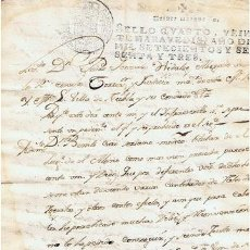 Sellos: TIMBROLOGIA.CARLOS III.S QUARTO.20 MARAVEDI.AÑO 1763. Lote 35658645