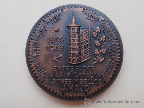 Sellos: Medalla Entregados a la Filatelia - Foto 2 - 38178454
