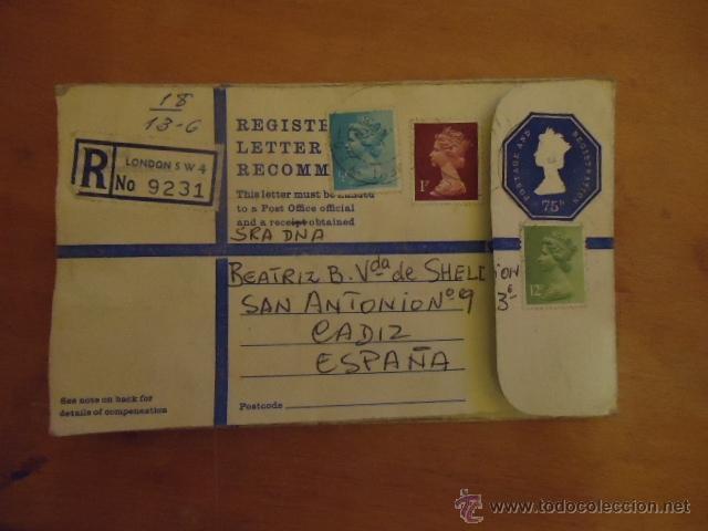 Sellos: sobre con sellos - Foto 2 - 39667248