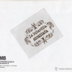 Sellos: SOBRE - NUEVO EMPRESA TMB, METRO Y AUTOBUSES DE BARCELONA - 16 X 23 CM. Lote 39829193