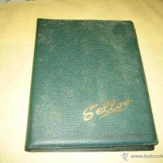Sellos: ALBUM DE SELLOS ESPAÑA Y SUDAMERICA - VER FOTOS. Lote 41145515
