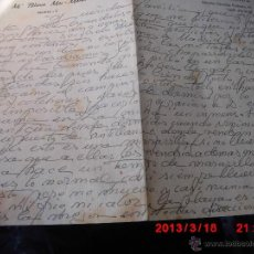 Sellos: CARTA BLANCA MAC MAHON PINTURA DE MADRID ESPOSA DE R. REYES TORRENT. Lote 42350904
