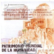 Francobolli: 1998 PATRIMONIO MUNDIAL DE LA HUMANIDAD : CUENCA, VALENCIA FOLLETO POSTAL. Lote 44422246