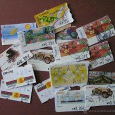 Sellos: LOTE DE ETIQUETAS ATM USADAS. Lote 46341699