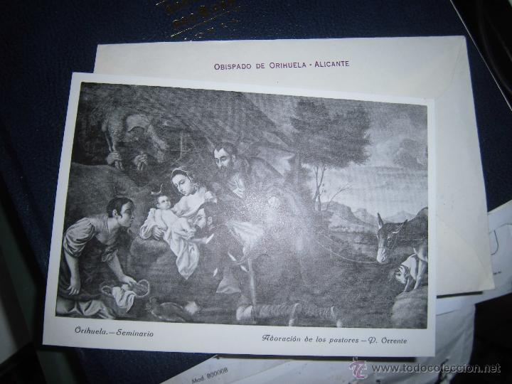 Sellos: carta antigua obispado ORIHUELA ALICANTE ALICANTE FELICITACION SELLO OFICIAL - Foto 2 - 42926352