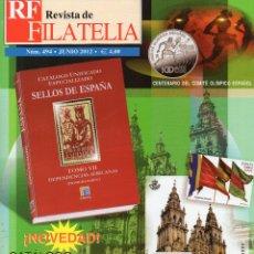 Sellos: REVISTA DE FILATELIA JUNIO 2012 Nº 494 . Lote 46684293