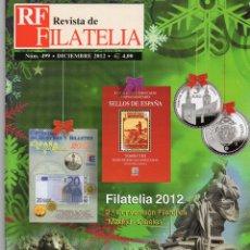 Sellos: REVISTA DE FILATELIA DICIEMBRE 2012 Nº 499 . Lote 46684311