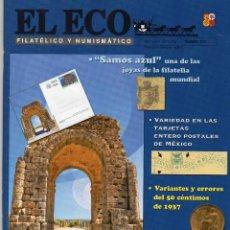 Sellos: REVISTA EL ECO FILATELICO Y NUMISMATICO FEBRERO 2013 Nº 1215. Lote 46684334