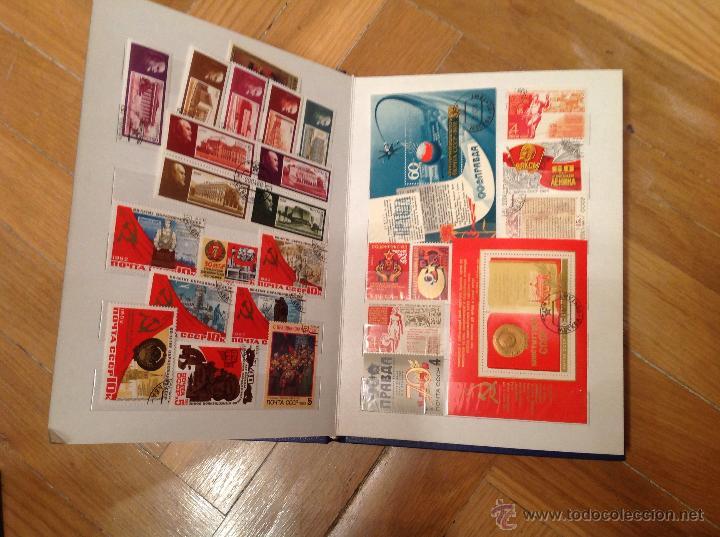 Sellos: Album con sellos de rusia - Foto 2 - 47597403
