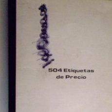 Sellos: LIBRETA FILABO: 504 ETIQUETAS DE PRECIO. . Lote 47767019