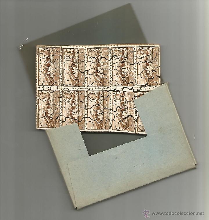 Sellos: Puzle de tema filatélico, con sellos auténticos - Foto 2 - 48632488