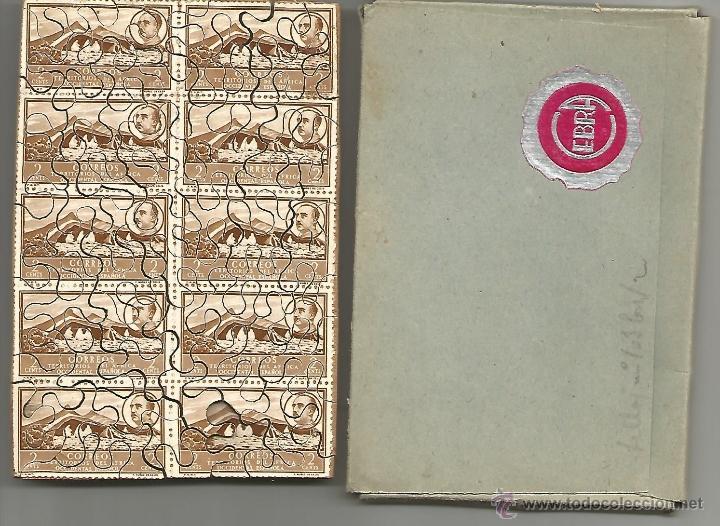 Sellos: Puzle de tema filatélico, con sellos auténticos - Foto 3 - 48632488