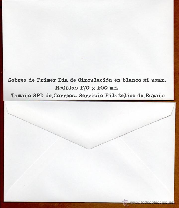 15 SOBRES NUEVOS DE FILATELIA SOBRE MATASELLOS PRIMER DIA SERVICIO FILATELICO ESPAÑA CORREOS SPD (Sellos - Material Filatélico - Otros)