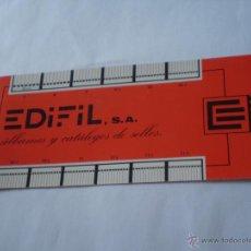 Sellos: ANTIGUO MEDIDOR DE SELLOS? EDIFIL,S.A.. Lote 50174588