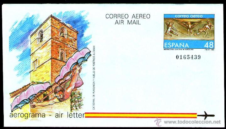 AEROGRAMAS AÑO 1986 ESPAÑA Nº 211 SIN CIRCULAR (Sellos - Material Filatélico - Otros)
