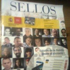 Sellos: SELLOS Y MUCHO MÁS - REVISTA DE CORREOS ESPAÑA 2013. Lote 51466592
