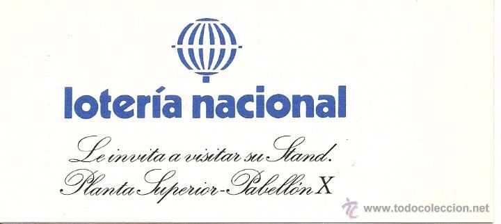 Sellos: ENTRADA A LA EXPOSICION MUNDIAL DE FILATELIA. ESPAÑA 1984 - Foto 2 - 52326712
