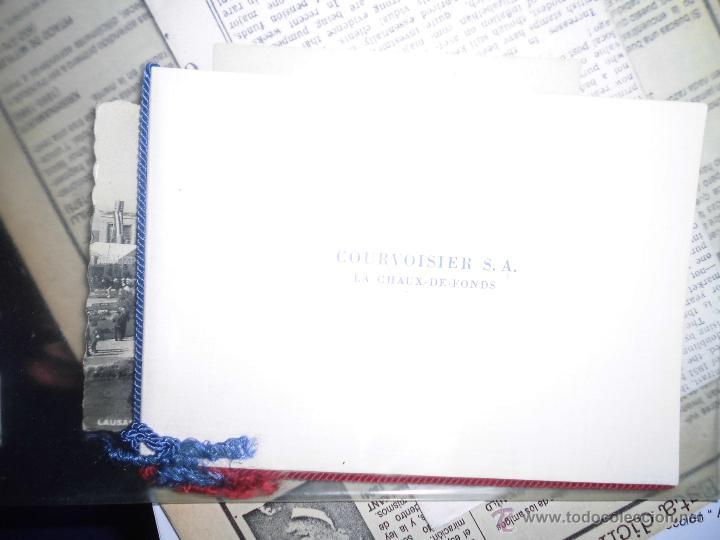 ALBUM SELLOS COURVOISIER S A (Sellos - Material Filatélico - Otros)