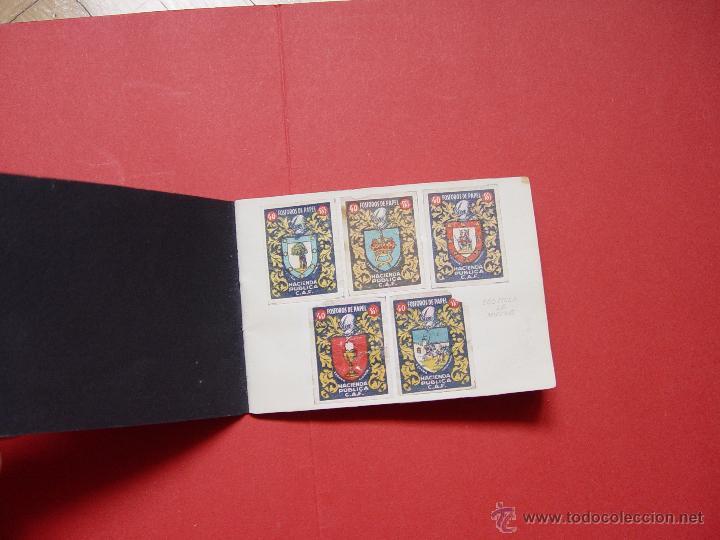 ESCUDOS ESPAÑOLES (FÓSFOROS DE PAPEL) (1940-50'S) COLECCIÓN COMPLETA: 50 CROMOS. COLECCIONISTA (Sellos - Material Filatélico - Otros)