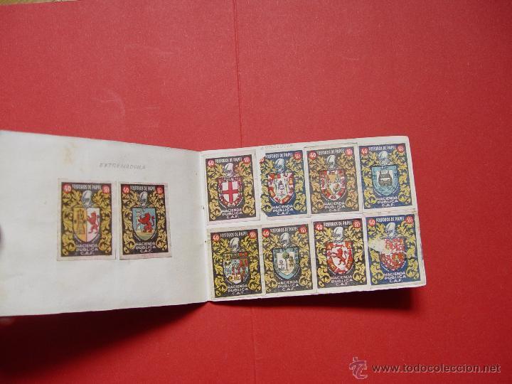 Sellos: ESCUDOS ESPAÑOLES (FÓSFOROS DE PAPEL) (1940-50's) Colección completa: 50 cromos. Coleccionista - Foto 4 - 53679651