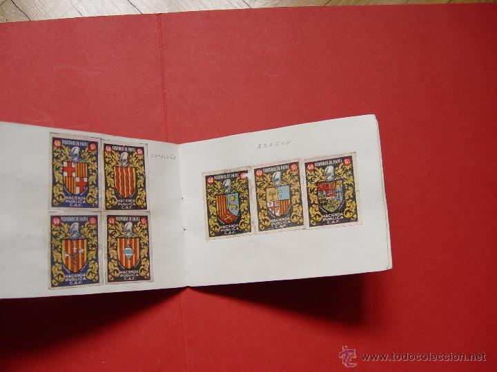 Sellos: ESCUDOS ESPAÑOLES (FÓSFOROS DE PAPEL) (1940-50's) Colección completa: 50 cromos. Coleccionista - Foto 6 - 53679651