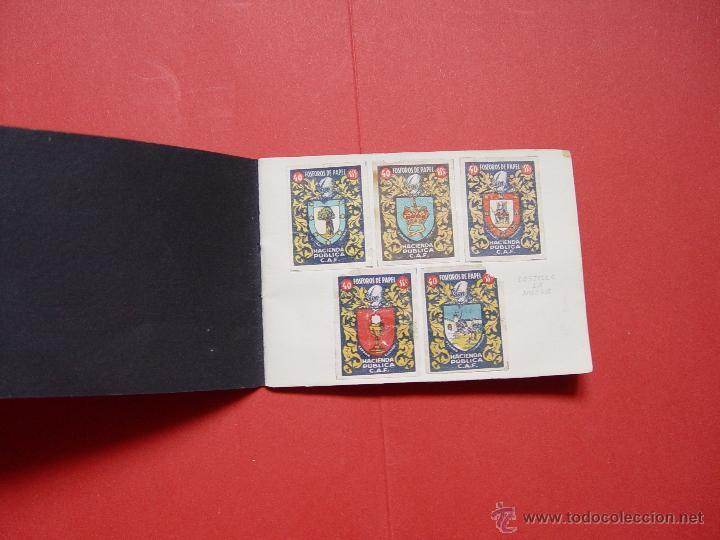 Sellos: ESCUDOS ESPAÑOLES (FÓSFOROS DE PAPEL) (1940-50's) Colección completa: 50 cromos. Coleccionista - Foto 7 - 53679651
