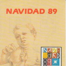 Sellos: INFORMACION: NAVIDAD 89 -- 29-11-89. Lote 53763804