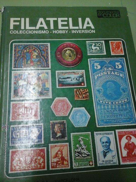 LIBRRO DE FILATELIA 1974 (Sellos - Material Filatélico - Otros)